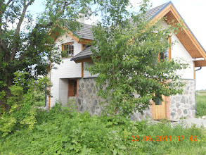 Photo: June 22 2011 almost finished the cabin