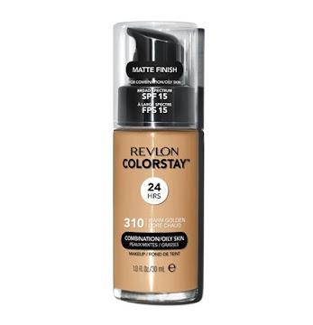 Base REVLON Colorstay   Liquida Mixta/Grasa Warm Golden x30Ml