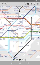 Tube Map London Underground Screenshot 21
