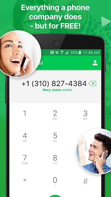 #4. textPlus: Free Text & Calls (Android)