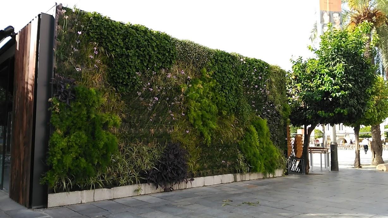 Jardín vertical en Mérida
