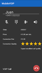 VoipBuster call roaming free- screenshot thumbnail