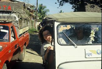 Photo: In Burma. Jeep to Maymyo