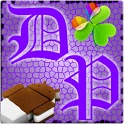 GOWidget DeepPurple ICS - Free icon