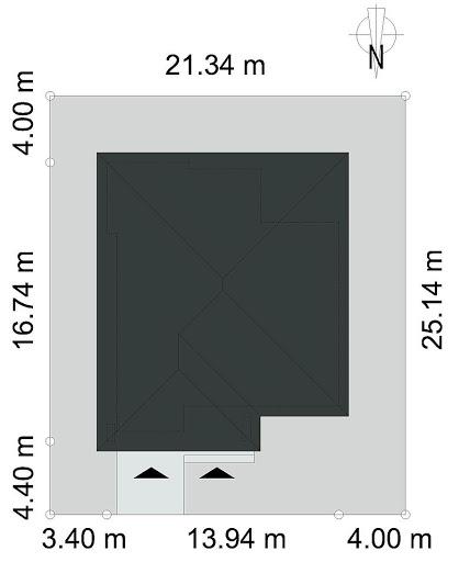 Dostępny D45 Wariant I - Sytuacja