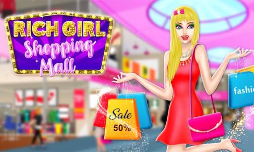Shopping Mall For Rich Girls: Supermarket Cashier  screenshots 1
