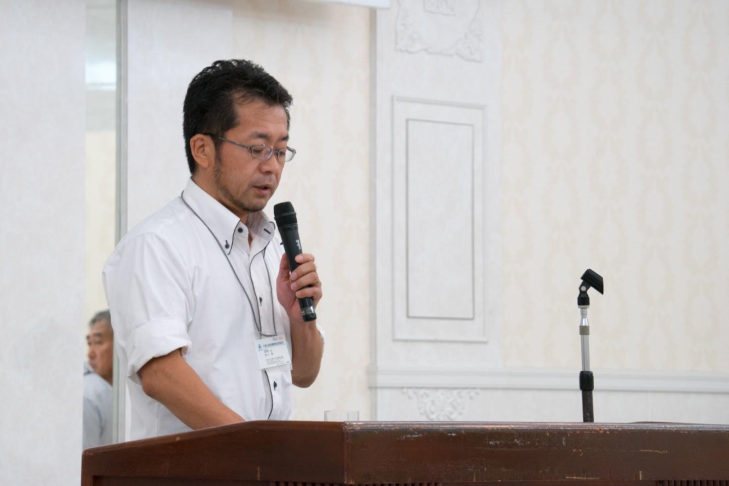 西川聡 氏(千葉北部酪農農業協同組合)