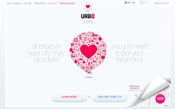 Photo: Site of the Day 13 March 2013 http://www.awwwards.com/web-design-awards/urbotip