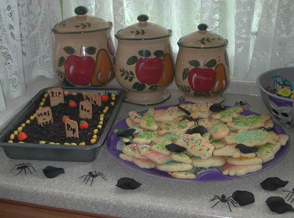 The First Time I Made Graveyard Pudding