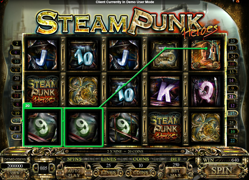 Steam Punk Heroes Slots Game Review