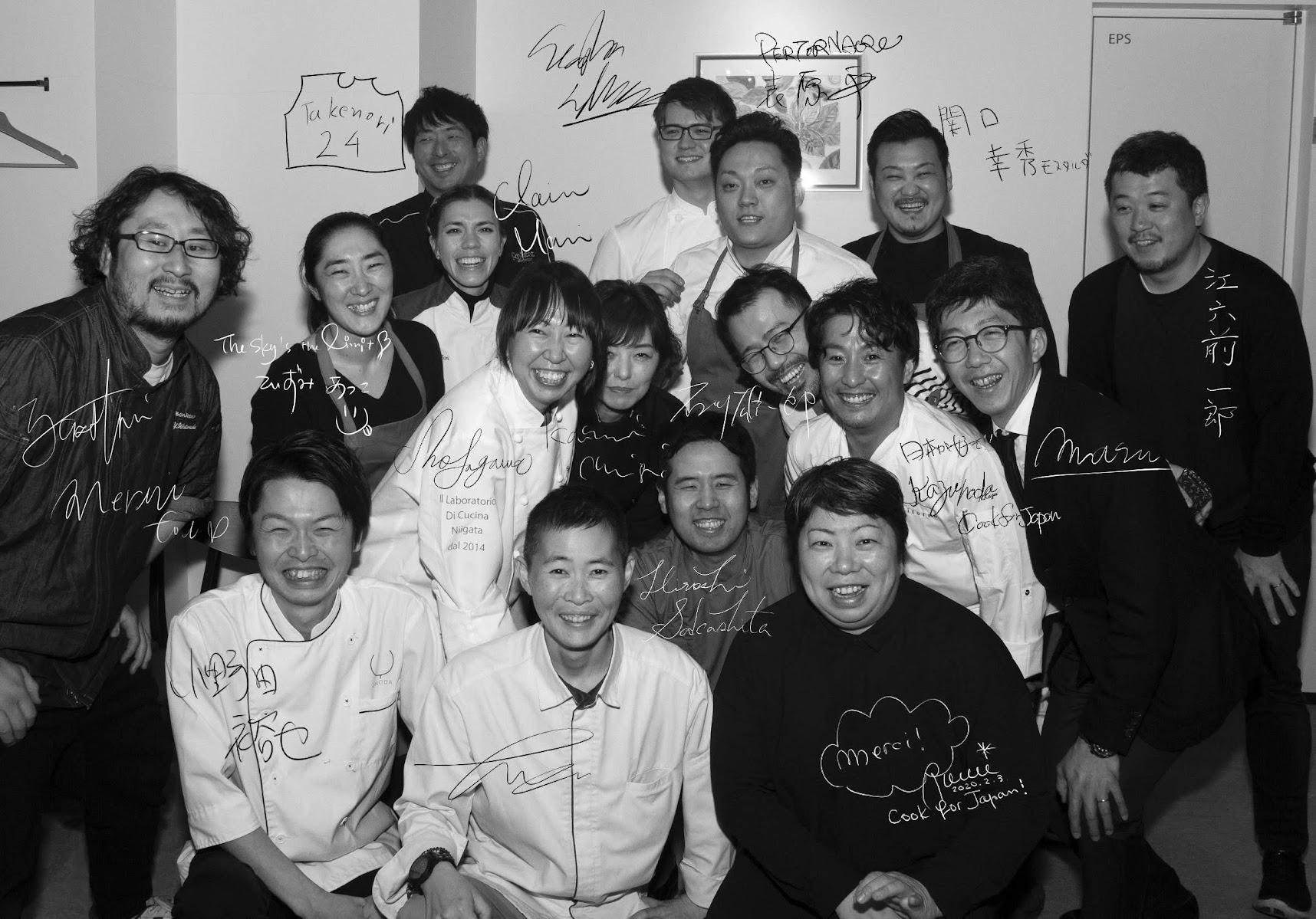 #CookForJapan メンバー集合写真