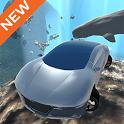 Flying Submarine Car Simulator icon