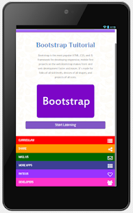 Offline Bootstrap with Editor- screenshot thumbnail