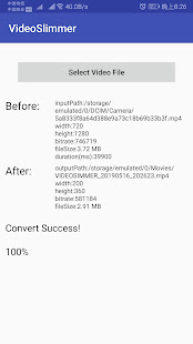 App Video Slimmer - Video Compression Tool APK for Windows Phone