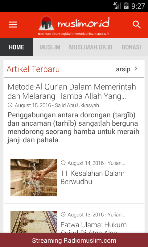 Muslim.or.id Official App- screenshot