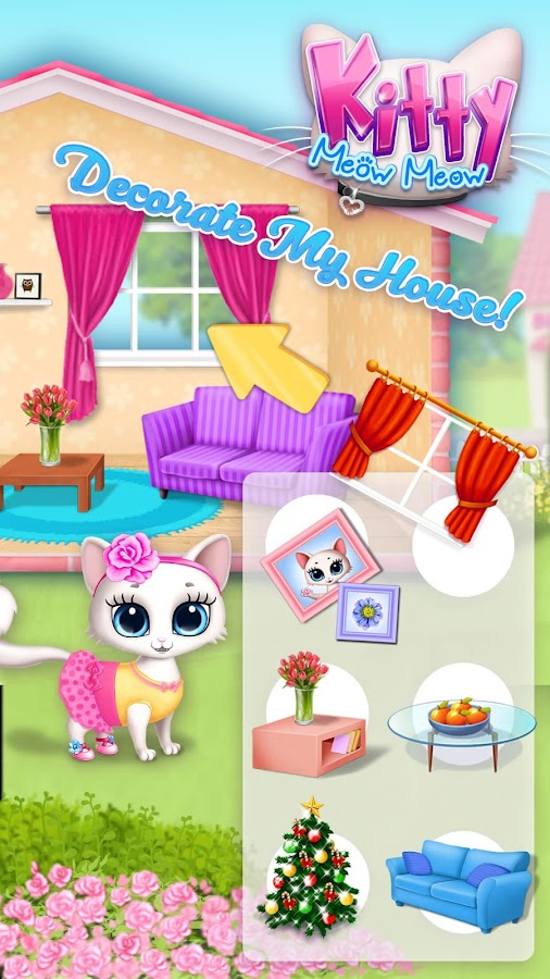 Kitty Meow Meow - My Cute Cat- screenshot