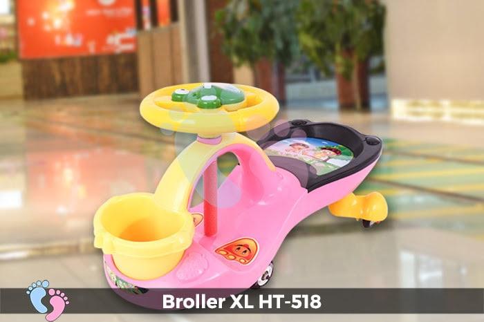 Xe lắc tay cho bé Broller XL HT-518 3