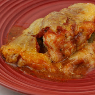 Slow Cooker Pizza Chicken.