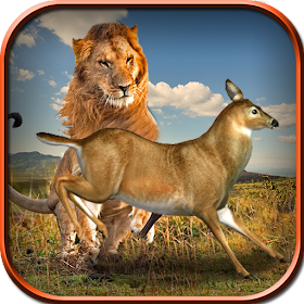 Wild Lion Simulator Game