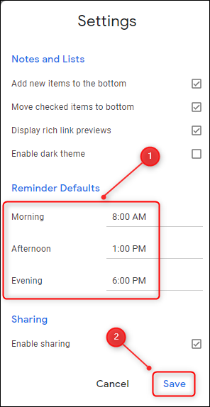 "[Solved] How to Change Gmail Default ""Snooze until..."" Times"