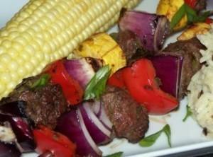 Island Jerk Venison Kebabs Recipe