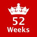 52 Weeks Challenge icon