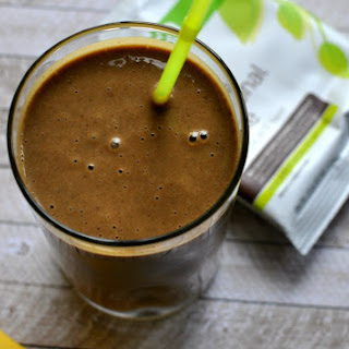 Dreamy Chocolate Peanut Butter Banana Smoothie