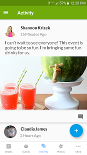 Evite Invitations & Guest RSVP- screenshot thumbnail