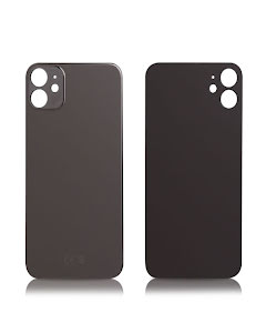 iPhone 11 Back glass without logo High Quality Space Gray