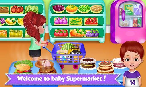 Baby Supermarket - Grocery Shopping Kids Game screenshot 1