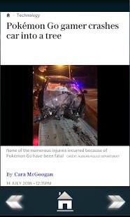 Risks of Pokemon Go screenshot