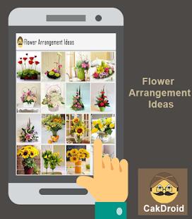 Myšlenka na uspořádání květin - náhled