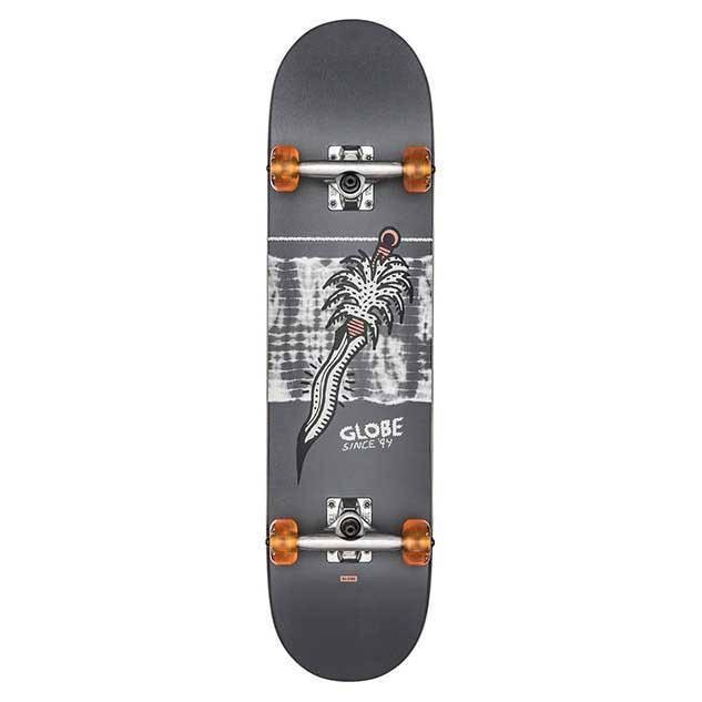 skateboard - Globe G2 Palm Prick Black/coral 7.75