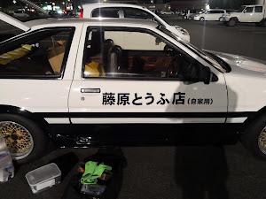 スプリンタートレノ AE86 GT-APEX 昭和61年式のカスタム事例画像 やわらかめさんの2019年11月17日01:42の投稿