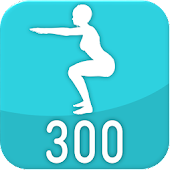 300 Squats challenge - Personal workout trainer