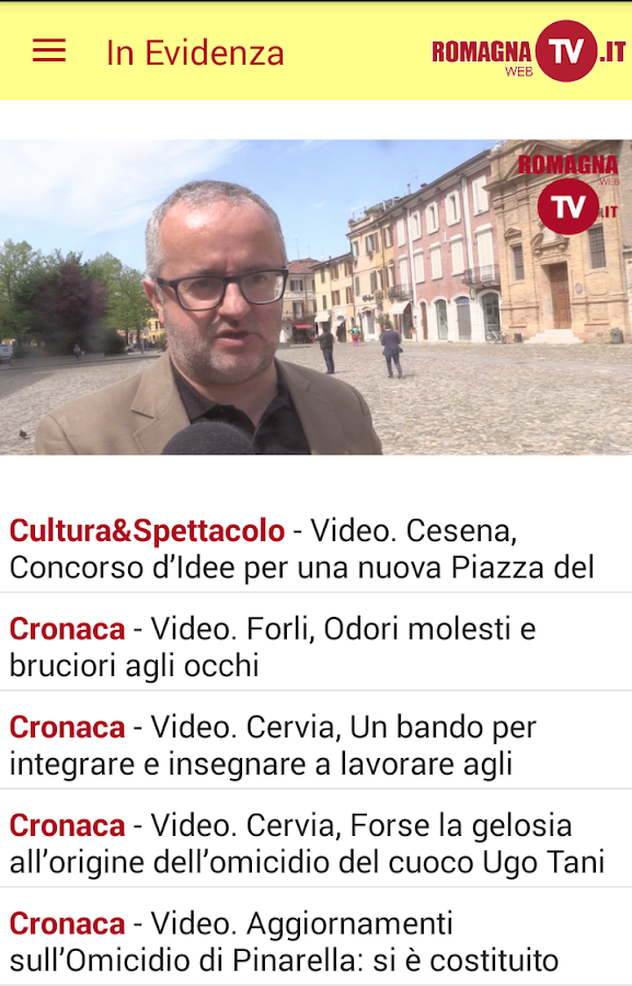 Romagna Web TV- screenshot