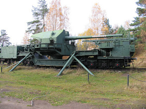 Photo: Железнодорожный артиллерийский транспортер