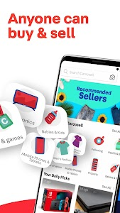 Carousell: Snap-Sell, Chat-Buy 2.149.558.419 (2899) (Arm64-v8a + Armeabi + Armeabi-v7a + mips + mips64 + x86 + x86_64)