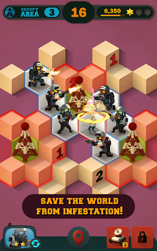 Zombie Sweeper: Minesweeper Action Puzzle 1.1.015 screenshots 10