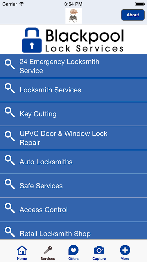Blackpool Lock Services- screenshot
