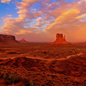 by Jim Moon - Landscapes Deserts ( navajo nation, monument valley,  )