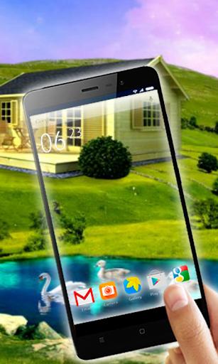 Transparent Live Wallpaper Screenshot