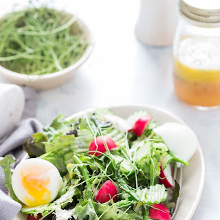 Fresh Spring Salad with Orange Vinaigrette Dressing