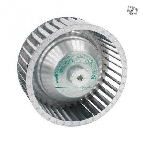 Luftvärmeaggregat. Enessen3 LVA och Essvarm med Radialfläkt 105 W