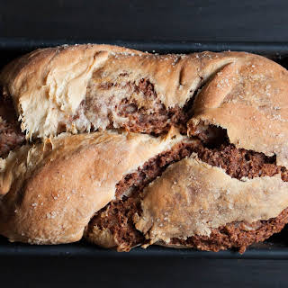 Vegan Povitica - Croatian Sweet Walnut Bread.