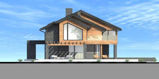 New House 21 - Elewacja lewa