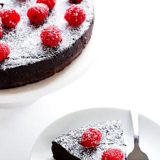 3-Ingredient Flourless Chocolate Cake.