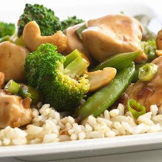 Skinny Cashew Chicken and Broccoli.