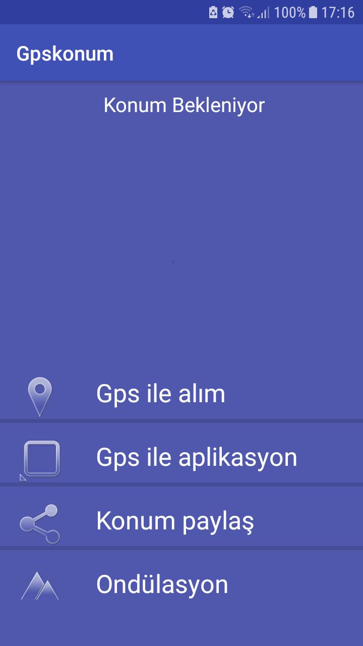 Скриншот Gpskonum