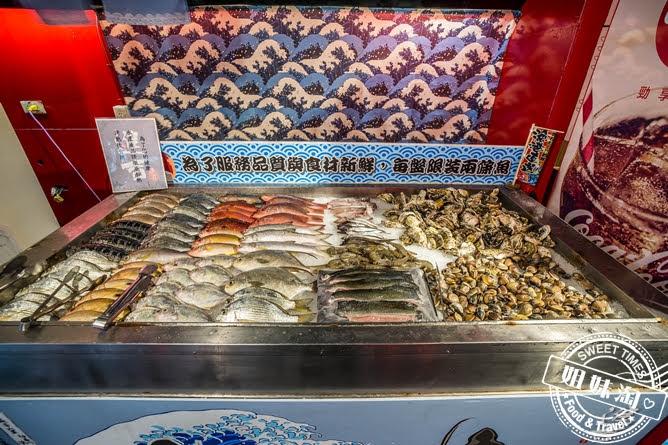 進吉泰國蝦海鮮炭烤吃到飽鮮魚牡蠣蛤蠣